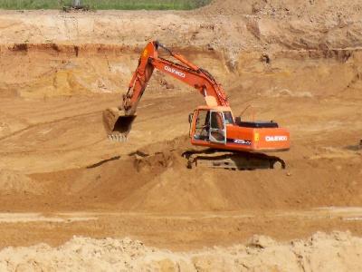 Компания Промщебень осуществляет доставку карьерного песка в г Воскресенск, Коломна, Раменское, Егорьевск